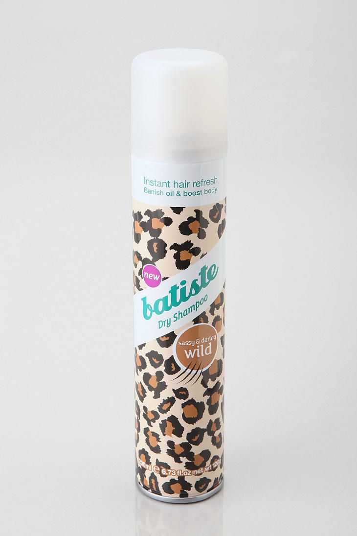 Batiste Dry Shampoo love this. Smells nice and woodsy