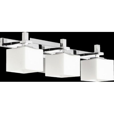 28 best bathroom lighting images on pinterest bathroom lighting quorum 3 light square vanity light reviews wayfair mozeypictures Choice Image