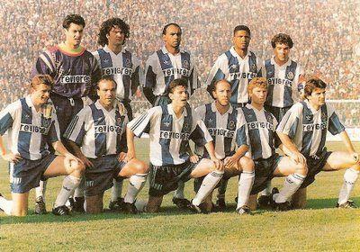 1992/93  - Campeonato Nacional  Vitor Baía,Fernando Couto,Semedo,Aloisio,João Pinto  Timofte,André,Domingos,Jaime Magalhães,Rui Filipe,Kostadinov.