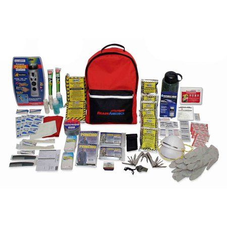 Ready America 2-Person 3-Day Deluxe Emergency Backpack