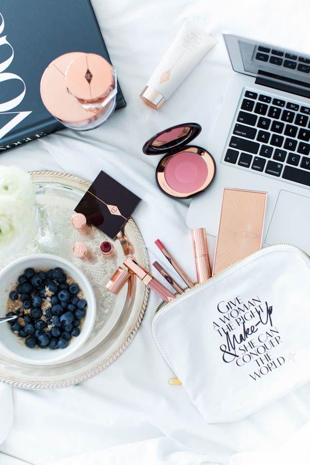 Morning glam | Charlotte Tilbury Make up