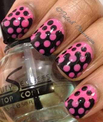 Guest Blogger week on Subliminally Smitten Blog. Check out this amazing mani by Marisa of Polish Obsession Blog.