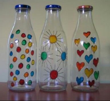 Pintura on pinterest for Decoracion de frascos de vidrio para cocina