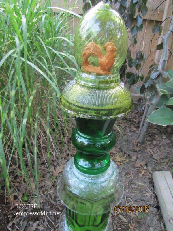 Readeru0027s Garden Art. Garden ProjectsGarden CraftsGarden IdeasGlass ...