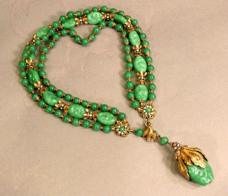 Green Costume Jewellery: Les 486 Meilleures Images Du Tableau Miriam HASKELL Sur