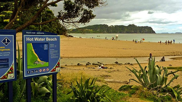 Hot Water Beach, see more at New Zealand Journeys app for iPad www.gopix.co.nz