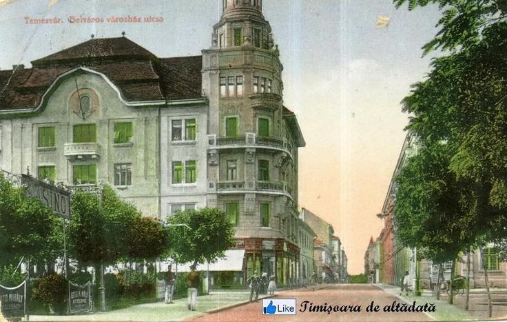 Timisoara - 1913 - Strada Primăriei