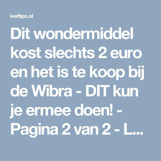 Dit wondermiddel kost slechts 2 euro en het is te koop bij de Wibra - DIT kun je ermee doen! - Pagina 2 van 2 - Leeftips