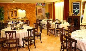 Groupon - Villa Les Rêves - Menu all you can eat con 20 antipasti, primi, secondi, dolci illimitati e vino a Chieri. Prezzo Groupon: €39,90