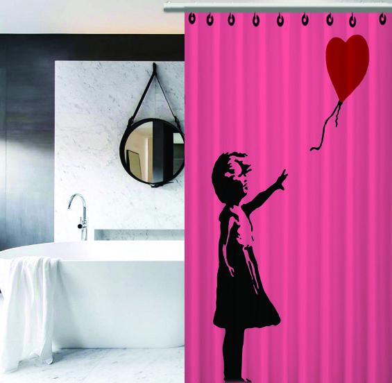 Rare Banksy Girl Heart Balloon Love Cover Custom Design Print On