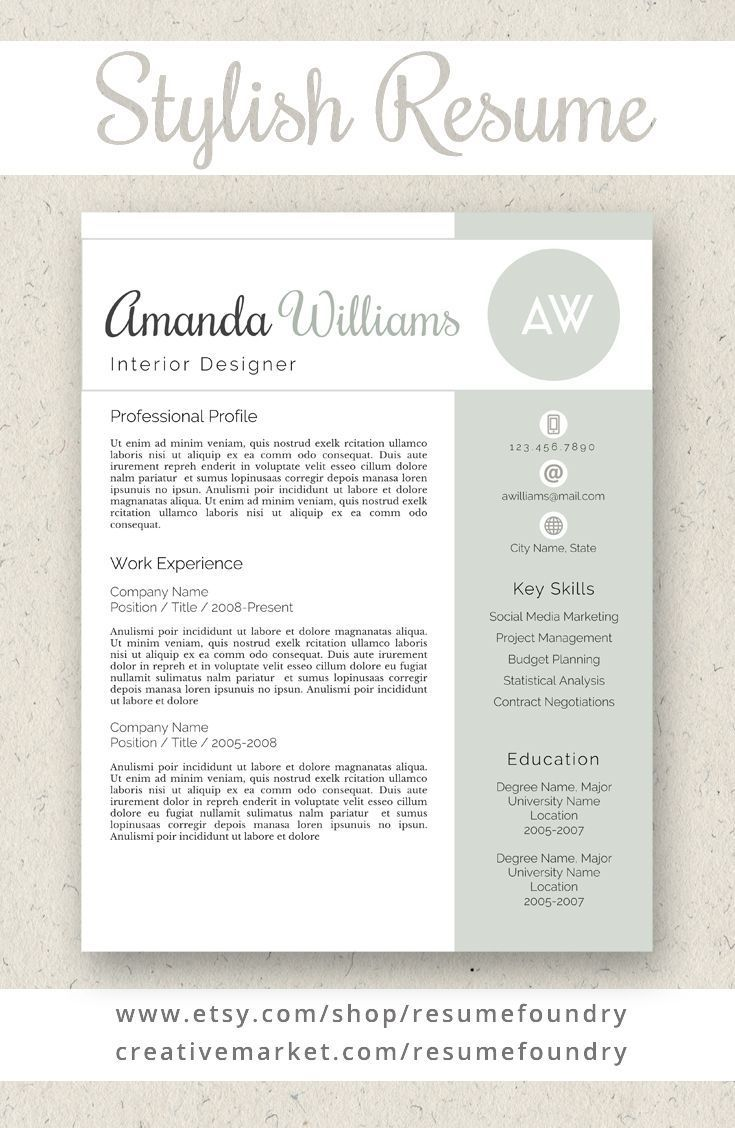 Resume Tips to Nail That Job Interview Resume template