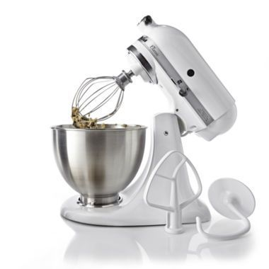 KitchenAid® 4½-qt. Classic Stand Mixer K45SS  found at @JCPenney Learn how you can easily obtain the best kitchen stand mixer for your kitchen at www.smallappliancesforkitchen.net