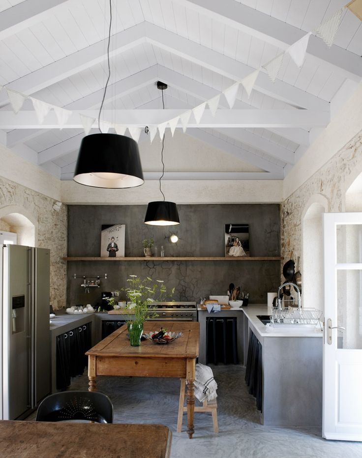 Kitchen Villa Kalos Ithica Greece | © Robbert Koene | Est Magazine