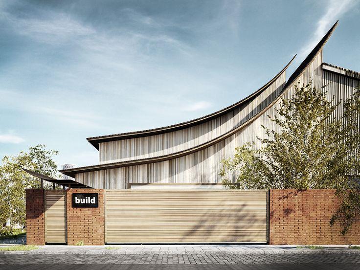 Thai House on Behance