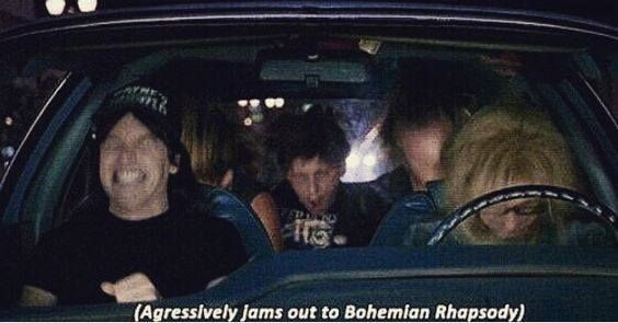 Me every time listening to the song
