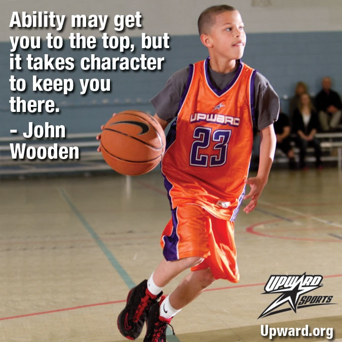 Ability + Character  #kids #sports #quotes