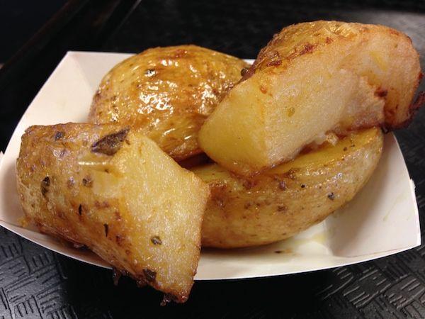 Garlic Potatoes from La Brasa Rotisserie & Grill In Beautiful Westchester, Florida