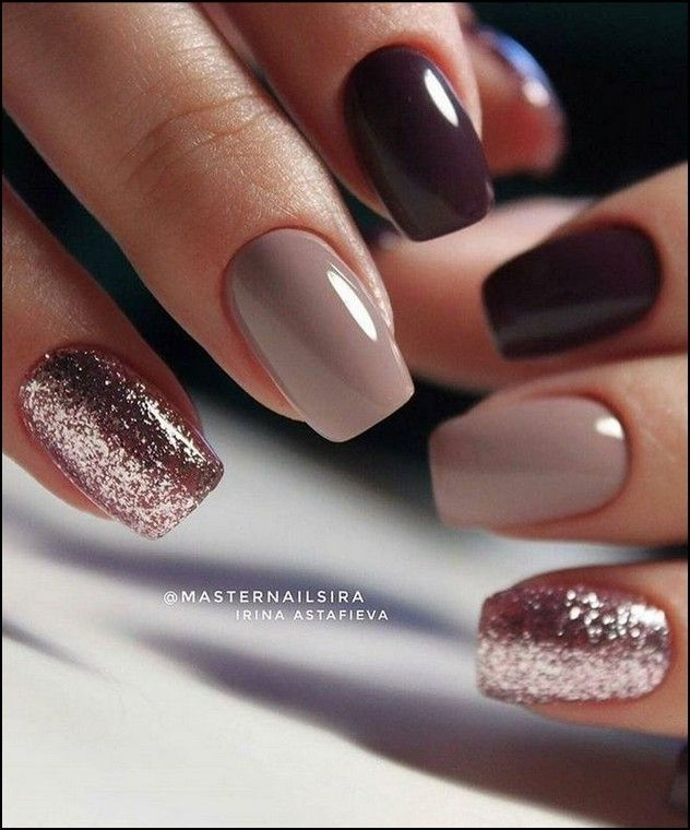 20 Attractive Nail Designs Ideas That Are So Perfect For Fall 2019 Attractive Designs Ideas Perfec In 2020 Short Acrylic Nails Gorgeous Nails Short Square Nails