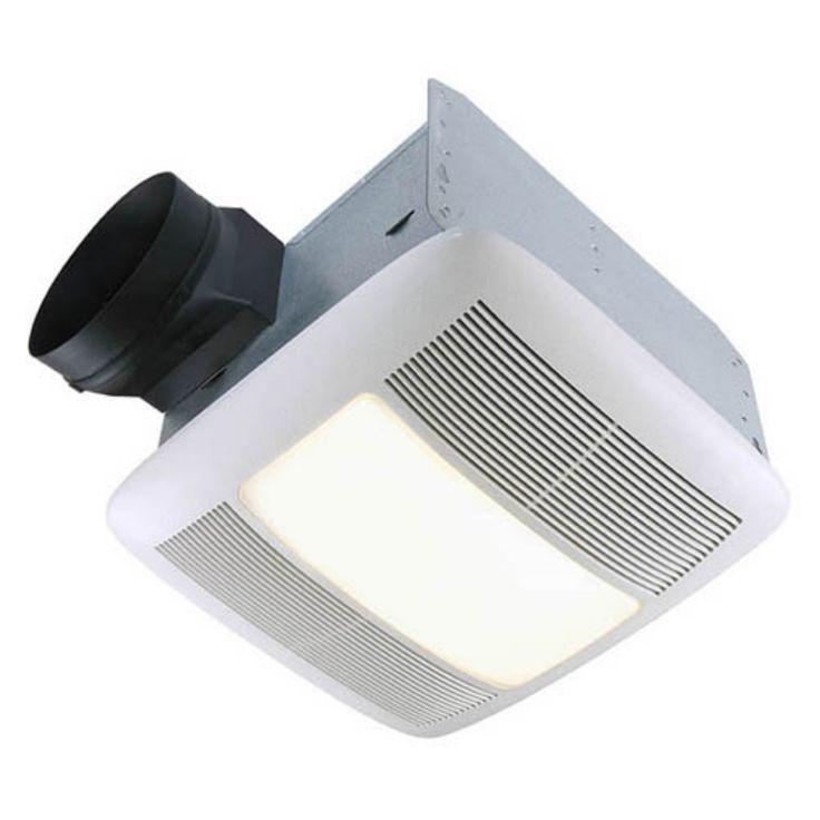 Broan-Nutone QTXEN150FLT Ultra Silent Bathroom Fan / Light / Night-Light - ENERGY STAR - QTXEN150FLT