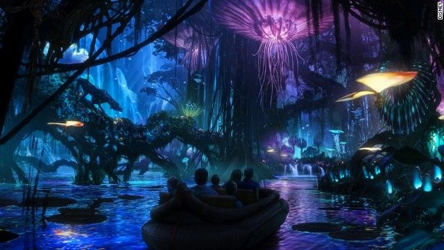 Due to open in 2017, Walt Disney World Resort's Avatar-themed land is being developed as part of massive expansion plans at the Animal Kingdom.