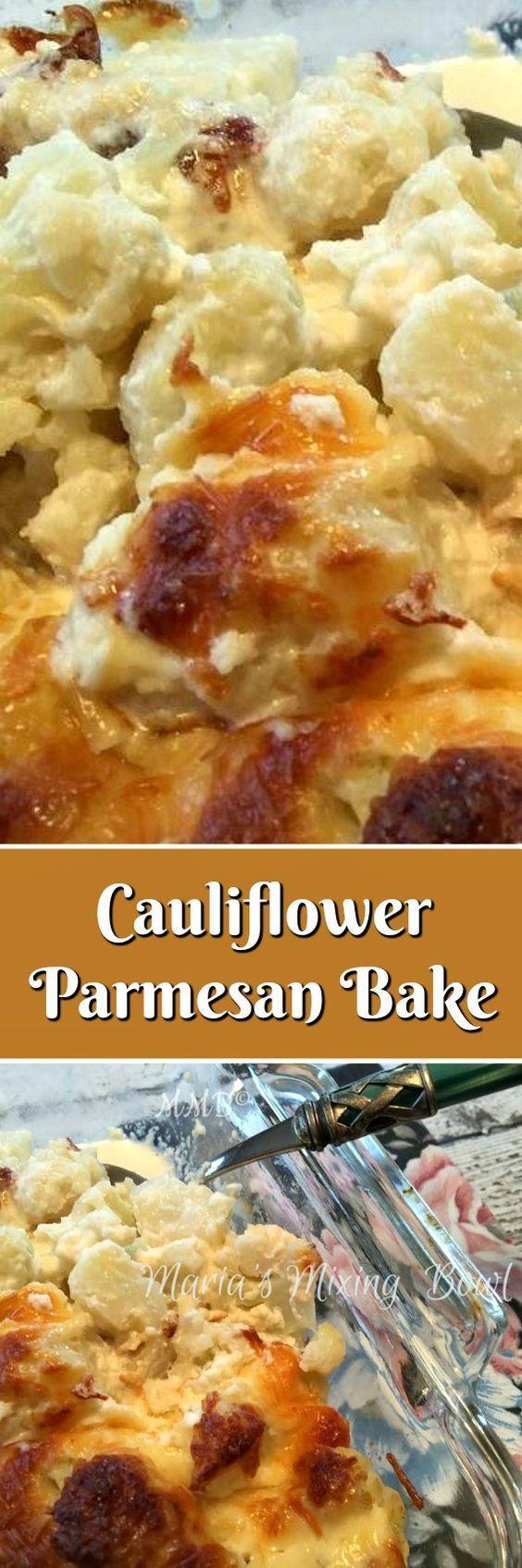 Cauliflower Parmesan Bake