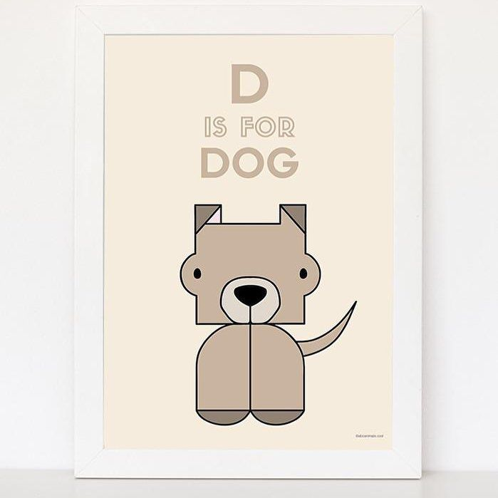 cute dog for baby room