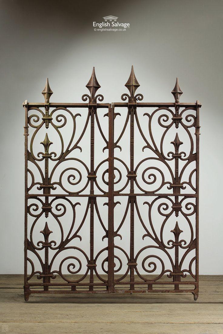Die besten 25 Cast iron fence Ideen auf Pinterest