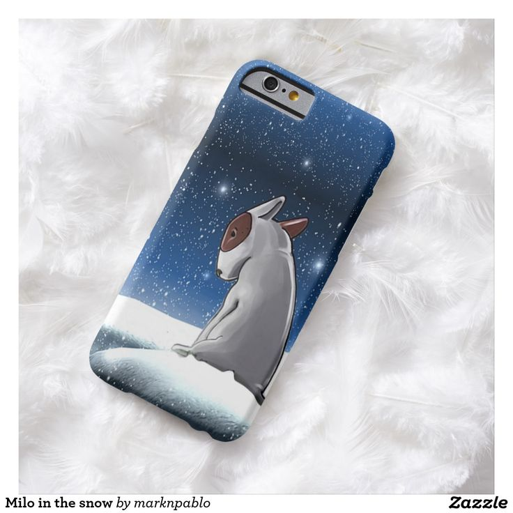 Milo in the snow barely there iPhone 6 case Exclusive to #zazzle Disc: Affiliate Link