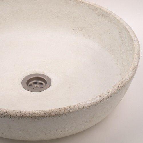 dodatki - łazienka-umywalka jasny beton UB5
