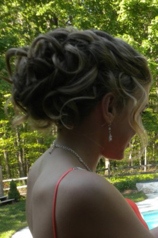 Prom hair, up-do