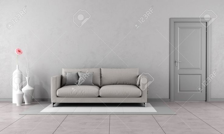 42906534-Gray-living-room-with-modern-couch-and-closed-door-3D-Rendering-Stock-Photo.jpg (1300×779)