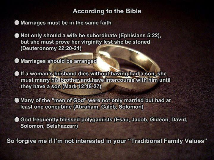 Examples Of Marriages In The Bible