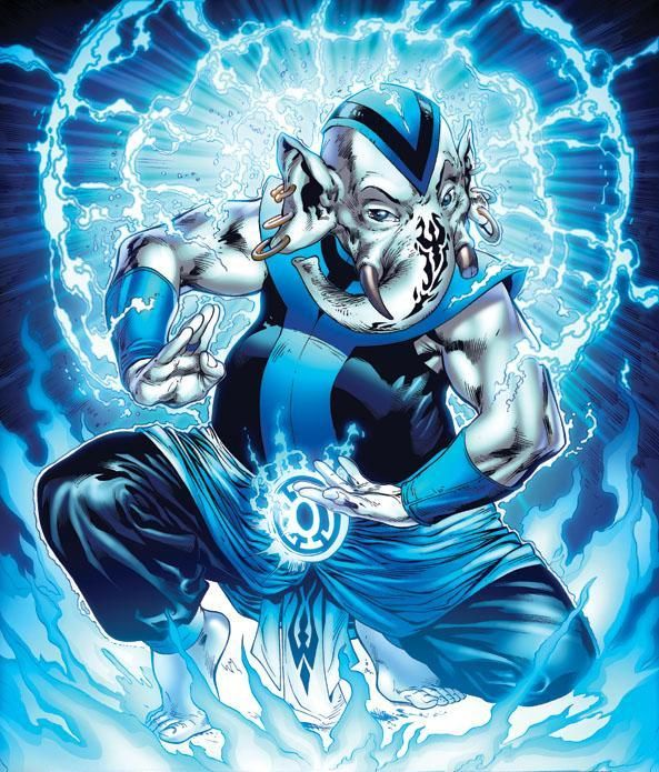 BROTHER WARTH - BLUE LANTERN CORPS