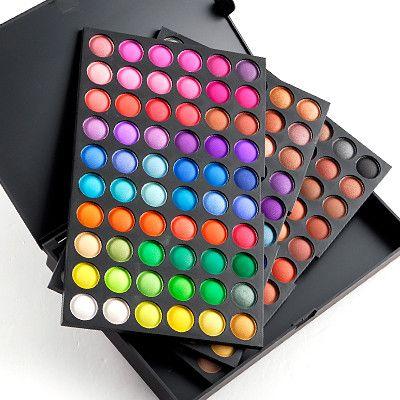 Trusa Farduri 180 culori Fraulein38 STARDUST IN GLAM, 3 palete culori