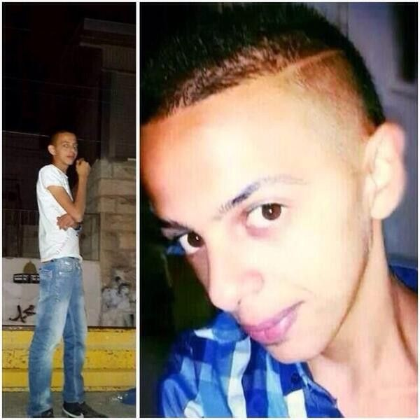 PHOTO: Muhammad Abu Khdeir, 16, kidnapped and murdered by #Zionists in #Jerusalem 2 July. #WorldNews