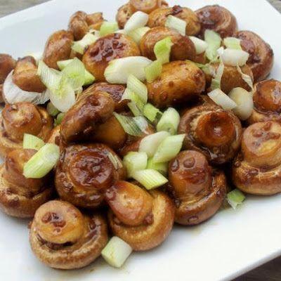 Mushrooms Oriental Recipe - Key Ingredient