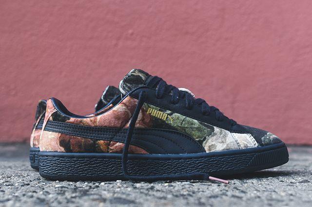 PUMA X HOUSE OF HACKNEY BASKET (ROSE/TOTAL ECLIPSE) - Sneaker Freaker