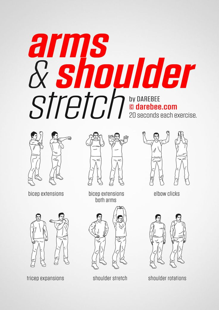 Arms Amp Shoulders Stretching Workout Posted By