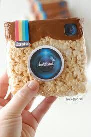 Instagram rice krispies!
