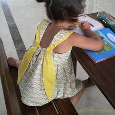 sublimes bretelles - patron Blue Princess de Papillon et Mandarine