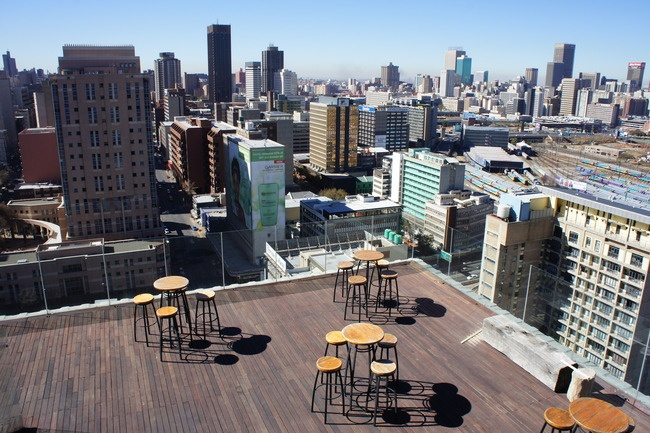 Randlords rooftop bar & lounge in Jo'burg, South Africa. AFAR Highlight by Greg Sullivan. #travel #Johannesburg #AFARExperiences