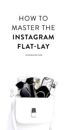 Master the Instagram flat-lay with the help of this guide. #instagram #photography