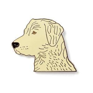 Labrador Head Badge