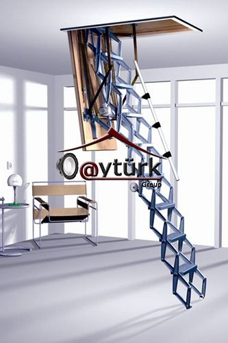 ROTO MAKASLI ÇATI MERDİVENİ - http://www.catipencerefiyatlari.com/roto-makasli-cati-merdiveni.html