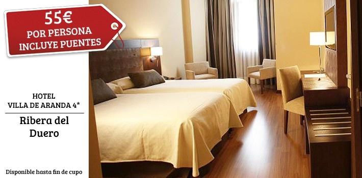 ¡Vive una experiencia única y vinícola en Ribera del Duero! Disfruta de un exclusivo Hotel 4* con desayuno y visita con degustación a las Bodegas Pradorey.