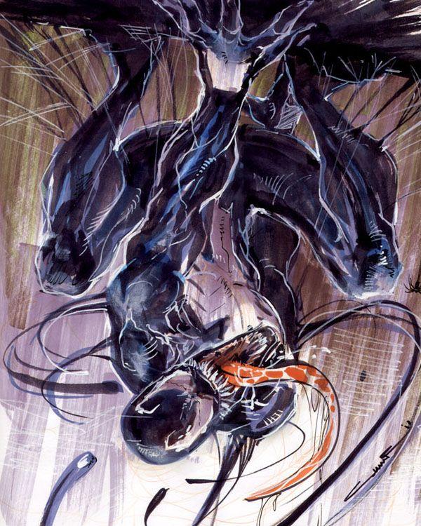 Sketch 53: Venom by Cinar