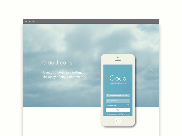 GIF : : PatchworkLabs : : Portfolio : : CloudIcons