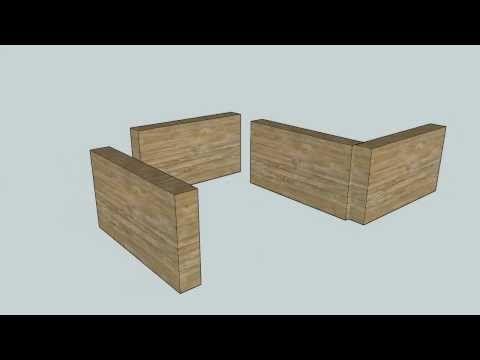 Laatikkorakenne ja liitoksia - YouTube