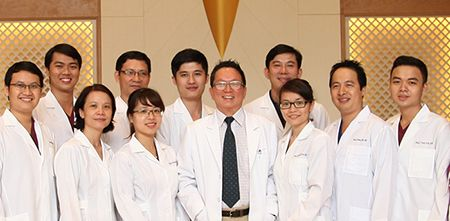 The specialist team at Dr Hung & Associates Dental Clinic