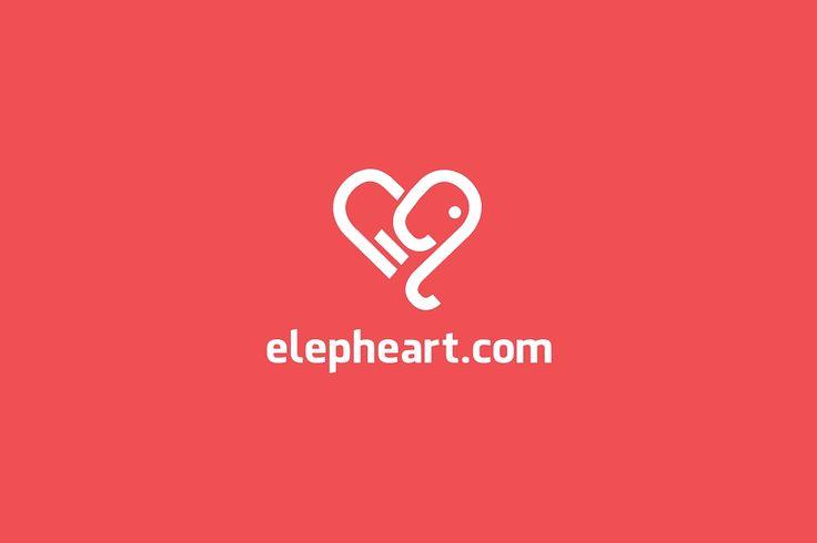 awesome Elepheart.com logo